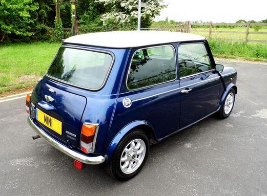 Classic Vintage 1965 Austin Mini Countryman Mark I. Colour ...  Old Blue Mini